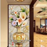 欢迎招商加盟 东莞瓷韵专业生产销售陶瓷精雕背景墙