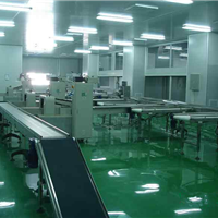 供应河南食品厂车间净化工程