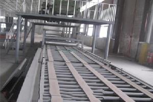 保温隔断板生产设备  新型玻镁防火板设备