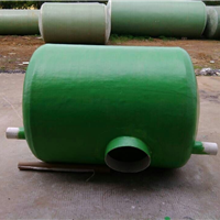 供应北海化粪池,塑料检查井,不透钢水箱。
