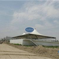 污水处理厂钢结构反吊膜加盖|废水密封罩