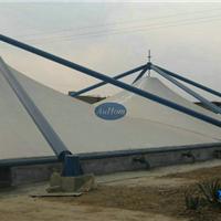 污水池钢结构反吊加盖|废水加盖膜结构|奥宏