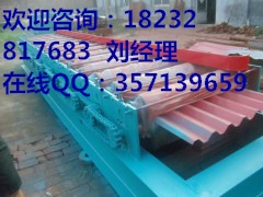 750单板压瓦机 彩钢瓦设备 彩钢板机