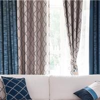 北京2015款新式家用窗帘/别墅窗帘定做安装