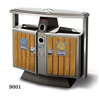 供应潍坊钢木果皮箱、不锈钢果皮箱生产厂家