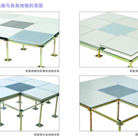 供应 全钢活动地板 防静电地板