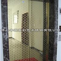 供应彩色不锈钢电梯板