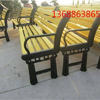 供应户外公园塑木带靠背座椅,批发零售