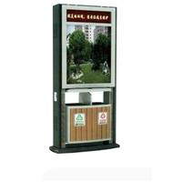 供应东营广告垃圾箱、城市广告分类垃圾箱