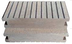 供应公园庭院用景观工程塑木地板140*40实心