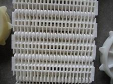 供应杀菌机塑料网带链(幻速 )
