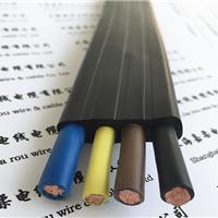 供应双钢丝专用扁形电缆