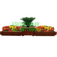 供应木制花盆 木质花箱 防腐木木制花盆价格