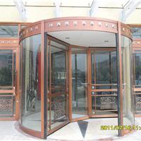 供古铜拉丝旋转门环柱门水晶门电动及自动