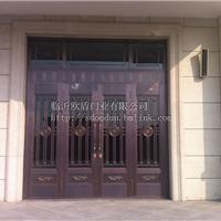 供应楼宇单元门磁卡门配件平开门铝材门