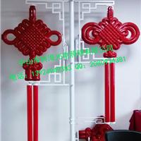 LED中国结挂路灯杆/灯杆LED中国结安装固定