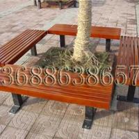 供应户外山樟木围树椅、靠背园林座椅、