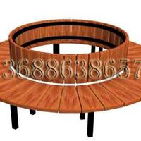 供应户外圆形围树椅、靠背椅定做批发最低价