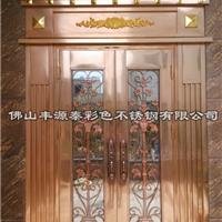 供应罗马柱不锈钢包边门