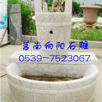石雕辘轳、石井、石雕水桶、石材辘轳