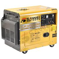 供应5KW静音型风冷柴油发电机