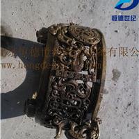 供应铸铜像高压水清砂机