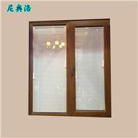 加工定制 尼奥洛防风手动铝包木窗 铝包木窗
