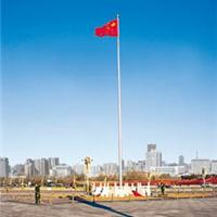 不锈钢锥形旗杆电动手动旗杆郑州旗杆厂家