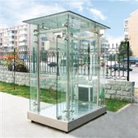 全玻璃岗亭钢结构玻璃岗亭郑州岗亭生产厂家