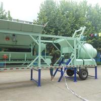 供应YHZM30小型移动式混凝土搅拌站