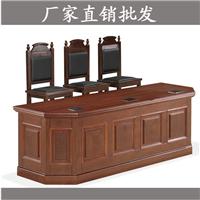 供应法院家具法庭家具法院台桌 书记台 诉讼桌板式生产厂家