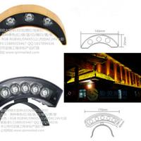 供应大功率LED月牙灯LED瓦片灯金黄光