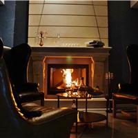 供应铸铁壁炉,燃木真火壁炉,安装效果图