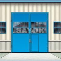 电动重型工业平开门,电动重型工业平移门