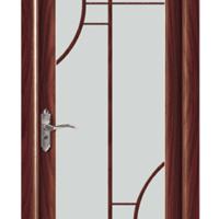 1.0半包边红木色平开门/卫生间门/厨房门