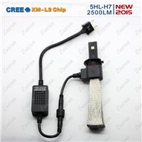 第五代LED大灯H7高散热铜带带LED前雾灯