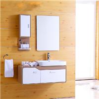 供应宝珠60-80cm浴室柜组合简约实木卫浴柜