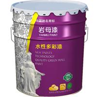 岩母涂料专业生产水性多彩漆、天然真石漆