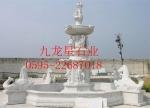 供应惠安石雕厂订做芝麻白大型喷泉