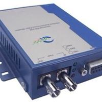 供应百兆单模光纤转RS232串口转换器