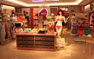 上海内衣展柜设计制作 内衣道具设计制作