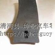 供应机械用方型橡胶海绵条40x40mm