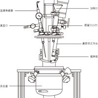 供应实验室真空乳化机.实验室乳化反应釜