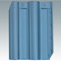 供应琉璃瓦(淡蓝)