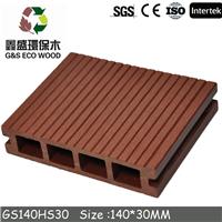 供应2015款防滑木塑地板140*40B