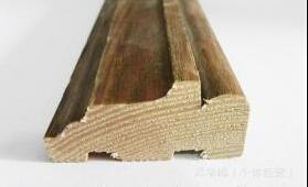 供应实木贴皮门套线、包覆木线、踢脚线