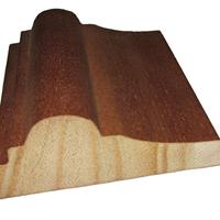 供应包覆木线,实木贴皮木线,门套线踢脚线