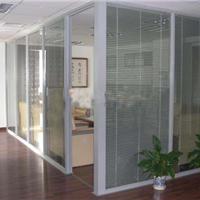 泰州办公室玻璃隔断,百叶隔断型材厂家批发