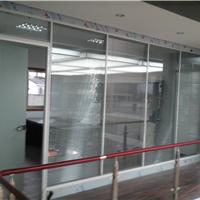 济南办公室玻璃隔断,百叶隔断型材厂家批发