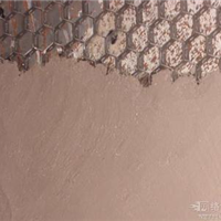 脱硝烟道防磨龟甲网内衬耐磨陶瓷涂料